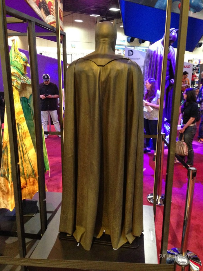 Batsuit from Batman v Superman