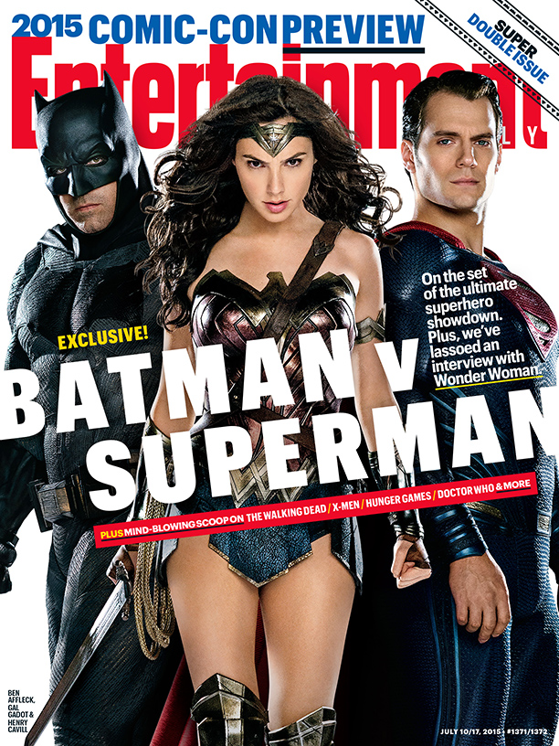 Batman v Superman: Dawn of Justice EW cover