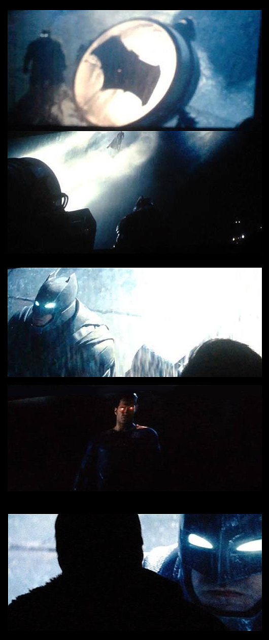 Batman v Superman teaser trailer photos
