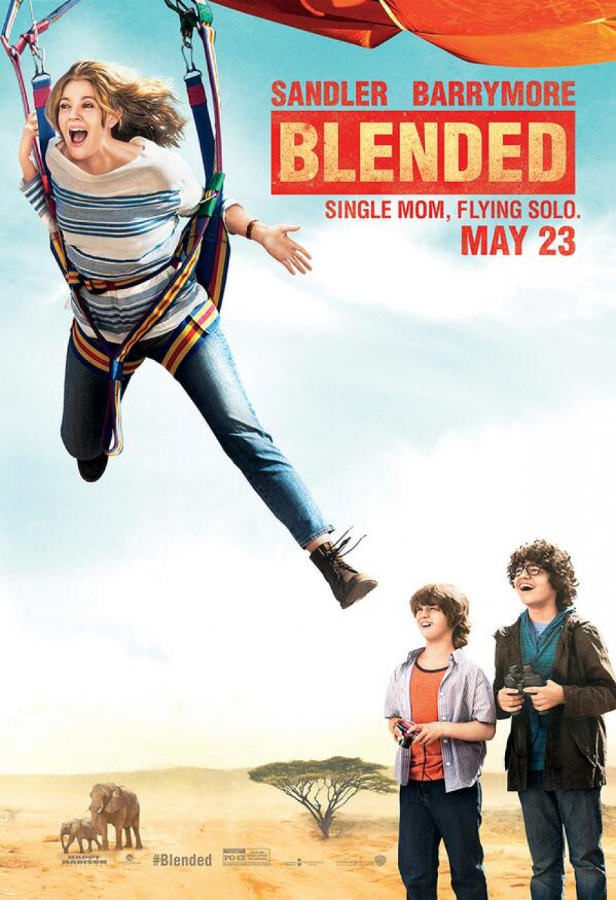 Blended character poster