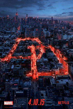Marvel's Daredevil movie poster