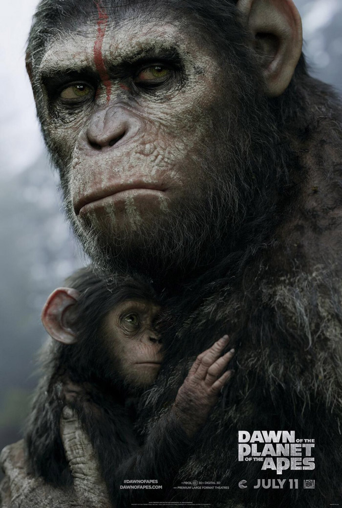 Dawn of the Planet of the Apes (2014) Movie Trailer ...