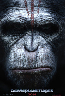 Dawn of the Planet of the Apes character poster