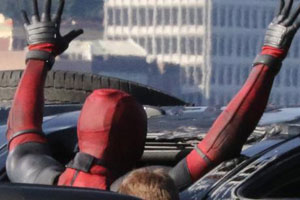 Deadpool movie set photo