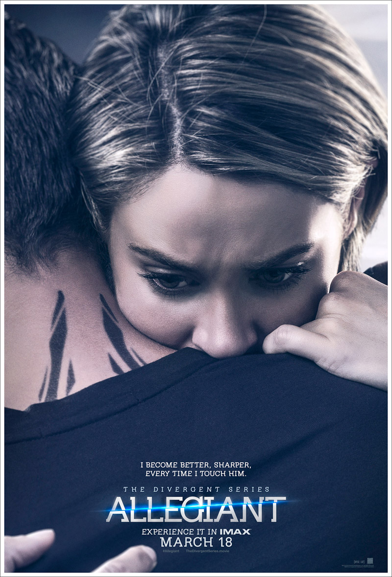 The Divergent Series: Allegiant New Tris poster