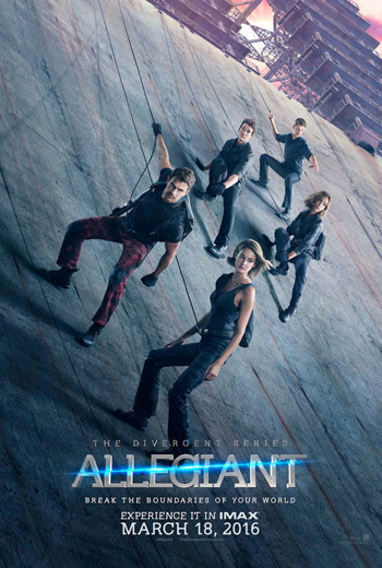The Divergent Series: Allegiant movie poster