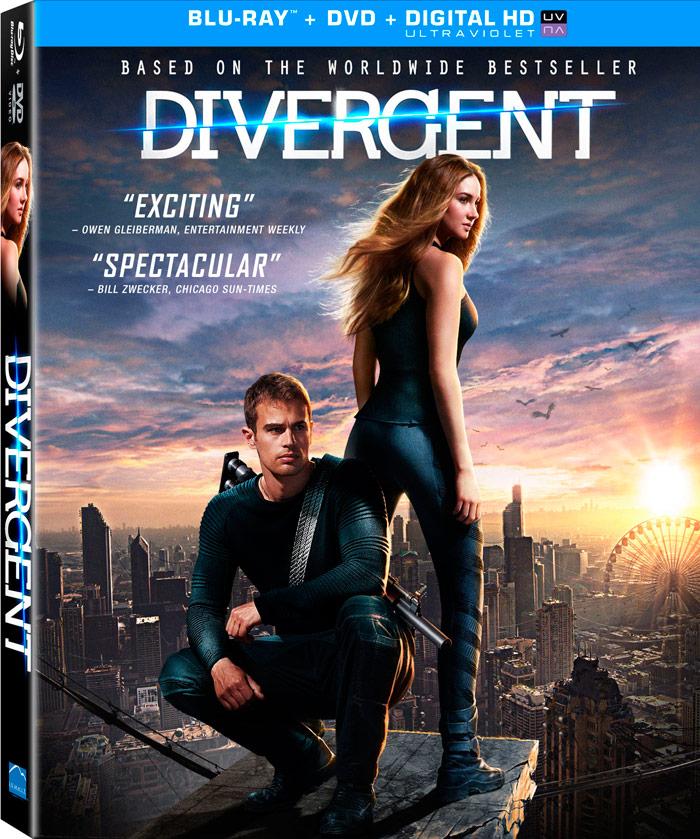Divergent Blu-ray