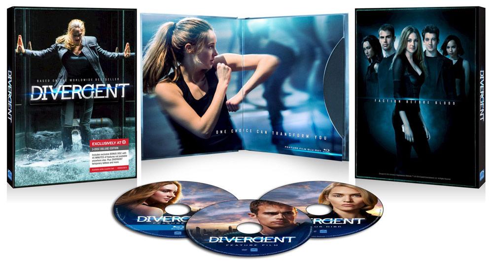 Divergent Blu-ray Target Exclusive