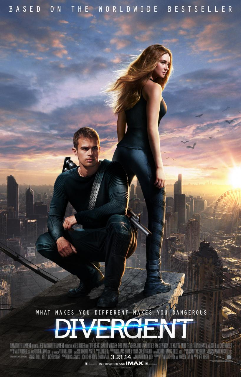 Divergent (2014) Shailene Woodley - Movie Trailer, Release ...