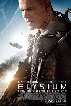 Elysium IMAX movie poster
