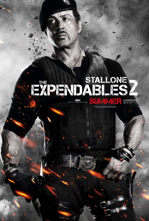 Expendables 2 Character Posters Debut - Movienewz.com