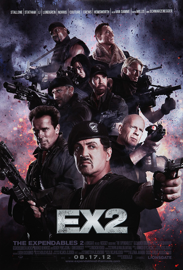 The Expendables 2 (2012) Sylvester Stallone - Trailer ...