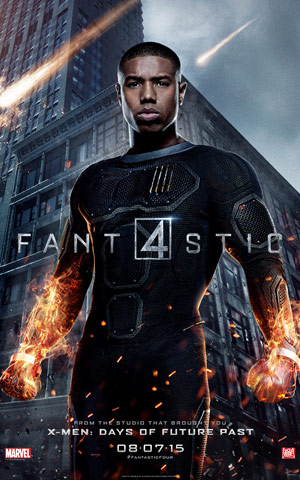 Fantastic Four character poster