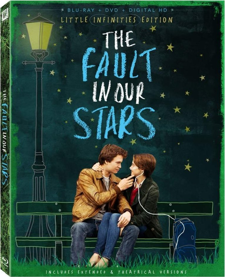 The Fault in Our Stars Extended Edition Blu-ray