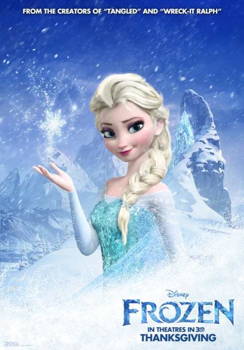 Frozen character poster 2