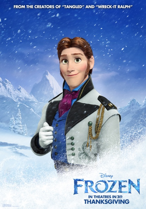 Frozen character poster 3