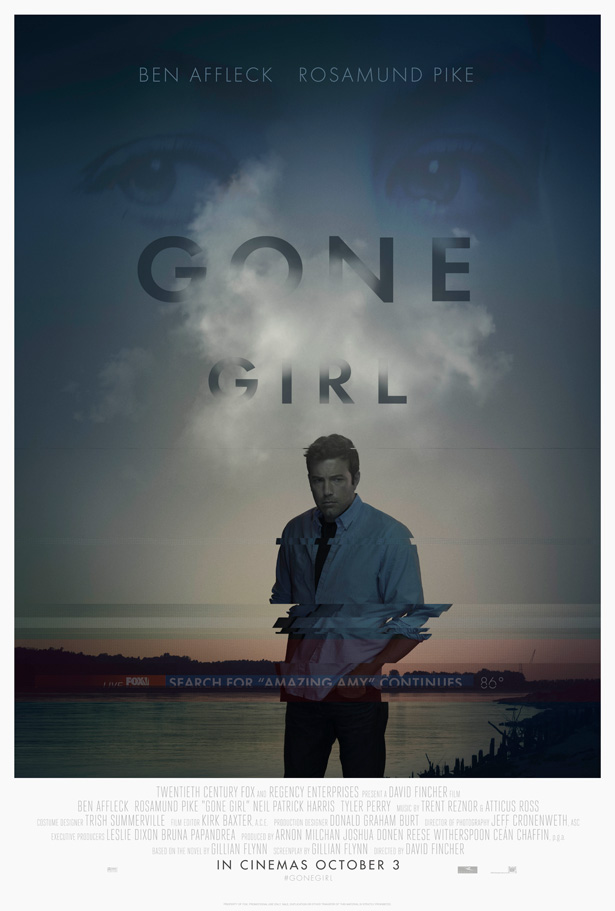 Gone Girl UK movie poster