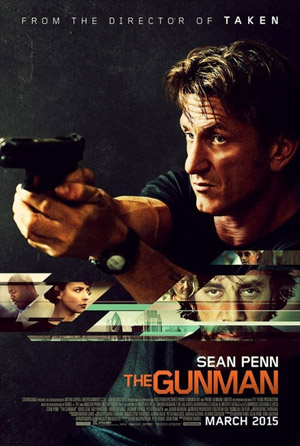 Gunman movie poster
