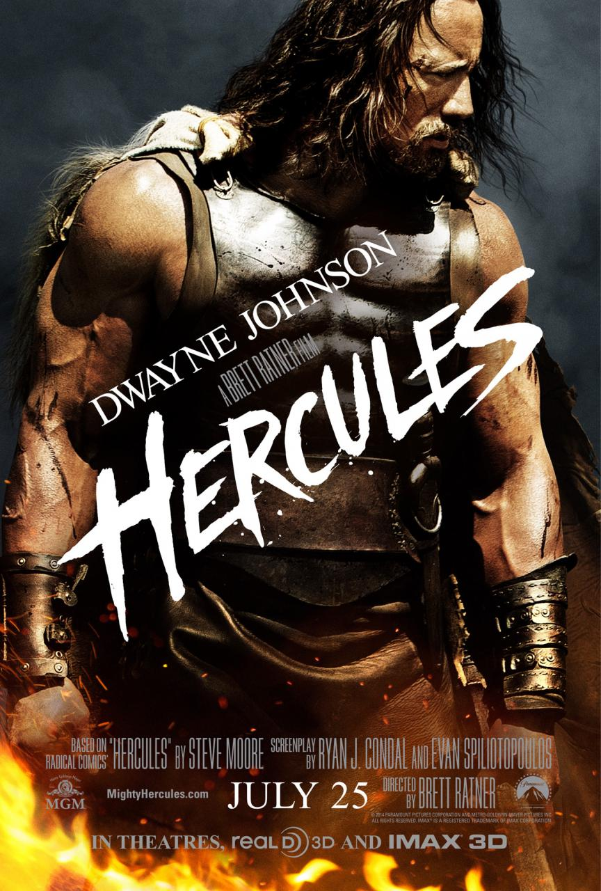 Hercules (2014) The Rock - Movie Trailer, Release Date