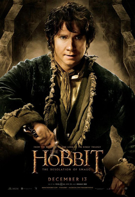 The Hobbit: The Desolation of Smaug character poster