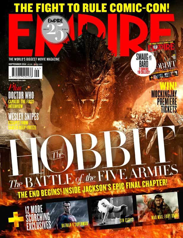 The Hobbit: The Battle of the Five Armies Empire Magazine cover