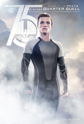 The Hunger Games: Catching Fire quarter quell poster
