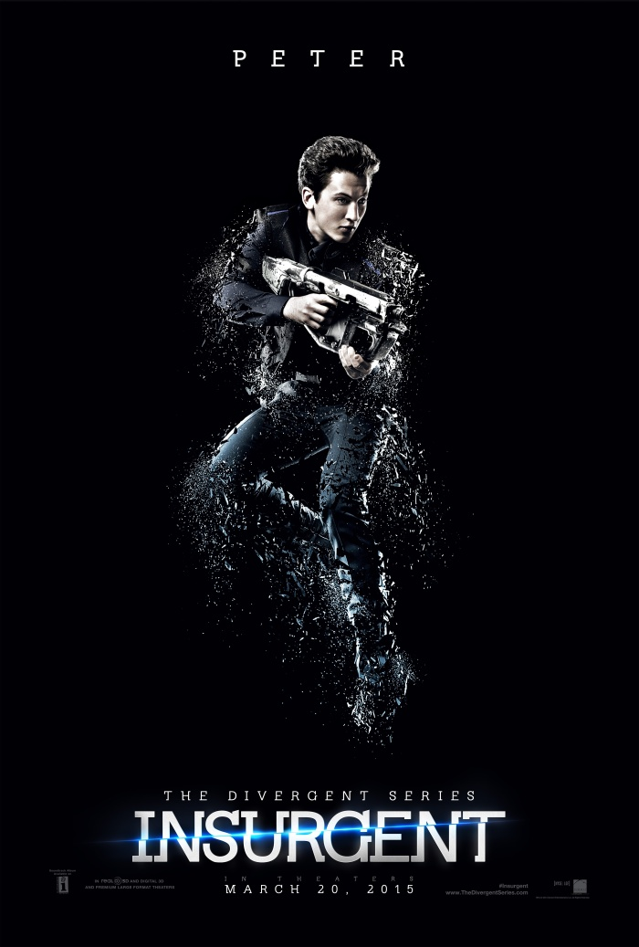 Insurgent character poster