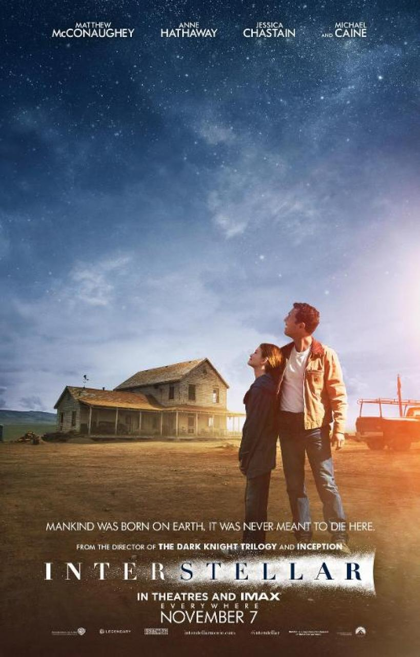 Interstellar 2014 Matthew Mcconaughey Movie Trailer