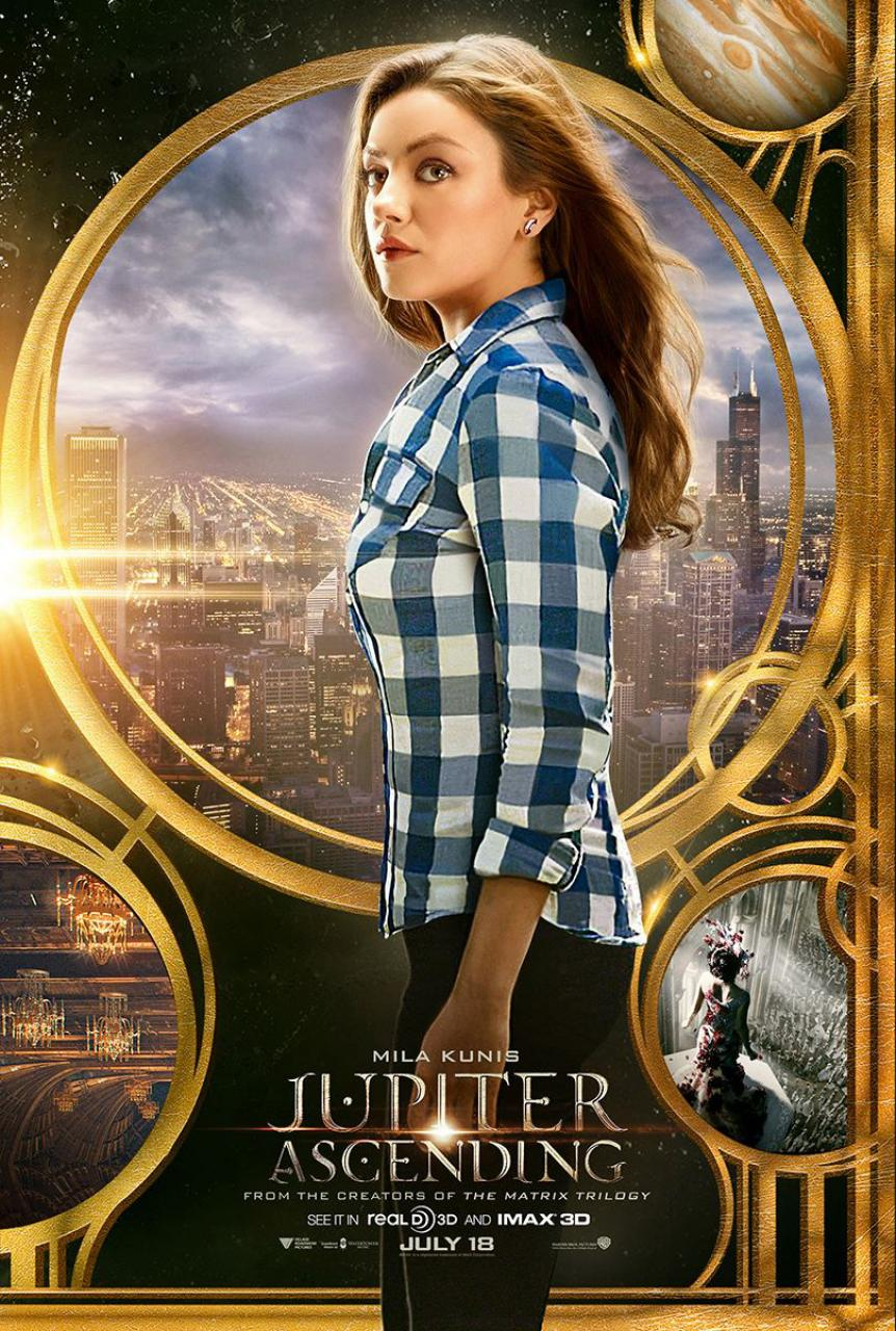 Jupiter Ascending (2014) Movie Trailer, Release Date, Cast