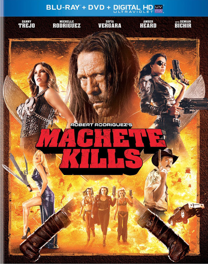 Machete Kills Blu-ray cover