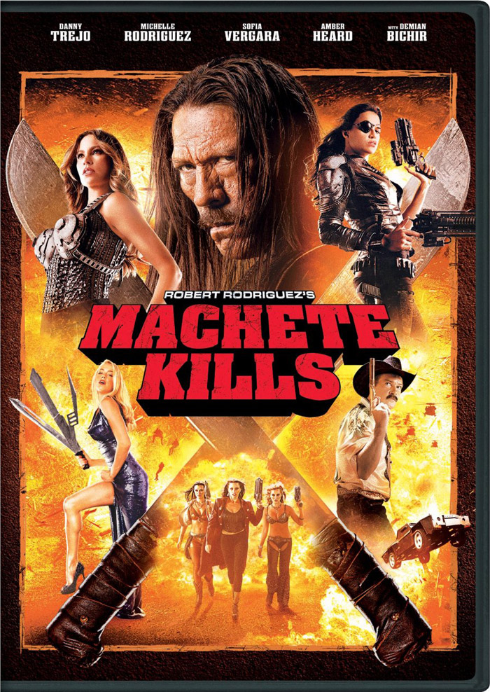 Machete Kills DVD cover