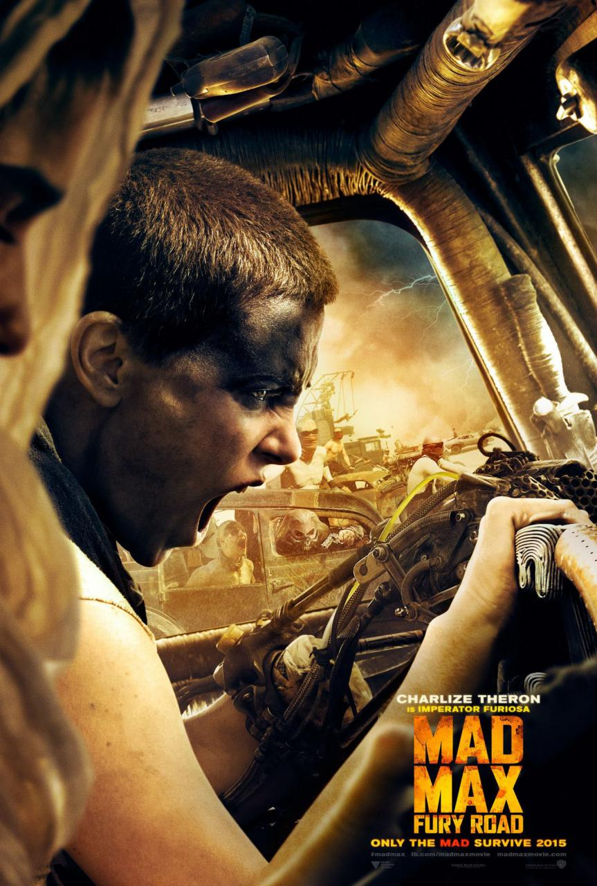 comic con 2014 mad max fury road character posters hit. Black Bedroom Furniture Sets. Home Design Ideas