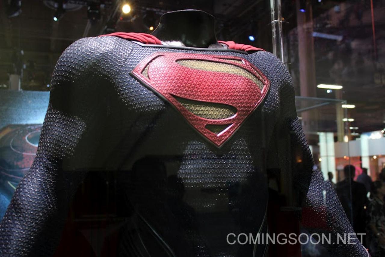 Man of Steel Costume Photos