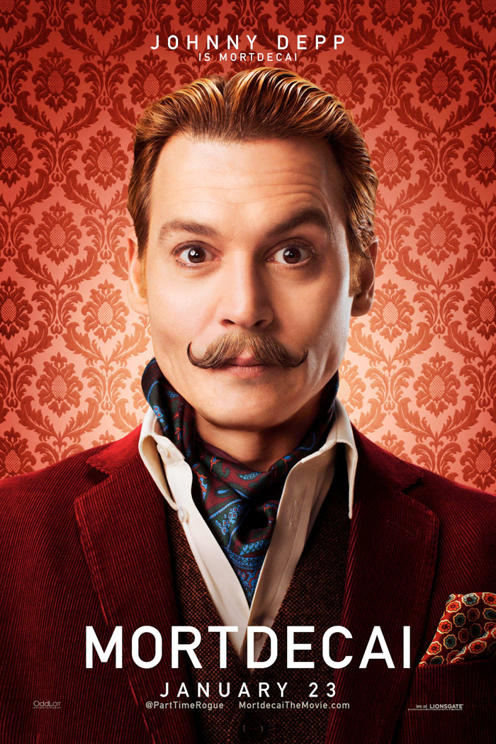 Mortdecai (2014) Johnn...