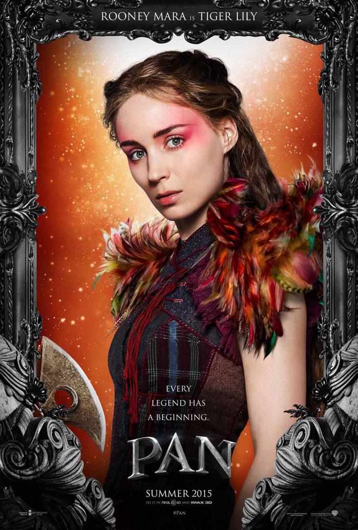 Pan character poster