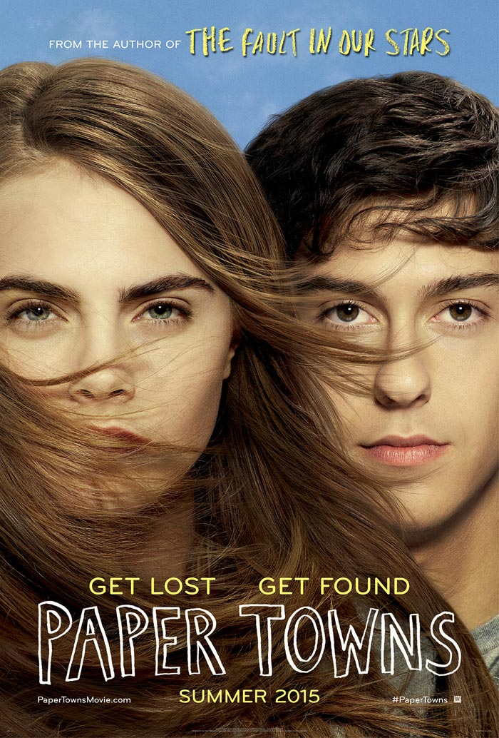 Papers The Movie Trailer Paper Towns Movie Poster