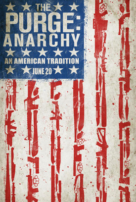 The Purge 2: Anarchy movie poster