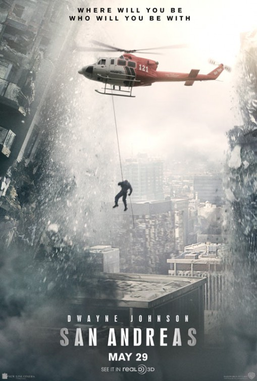 San Andreas (2015) The Rock - Movie Trailer, Cast, Release ...