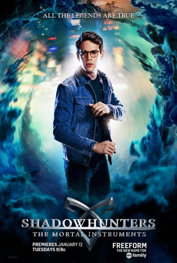 Shadowhunters: The Mortal Instruments character posters
