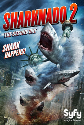 Sharknado 2 movie poster