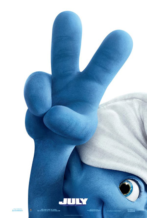 The Smurfs 2 movie poster