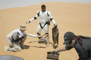 Star Wars: The Force Awakens set photo