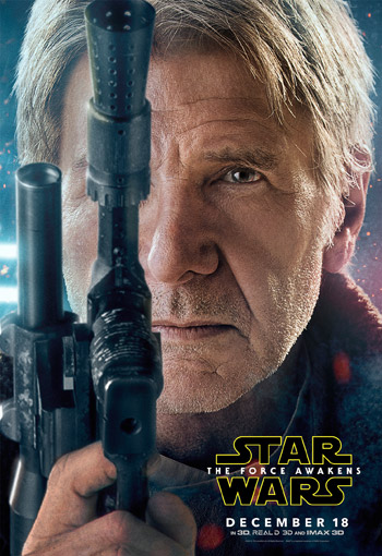 Star Wars: The Force Awakens character poster