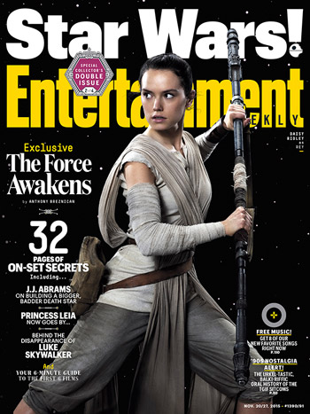 Star Wars: The Force Awakens Entertainment Weekly cover
