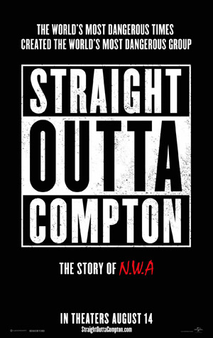 Straight Outta Compton movie poster