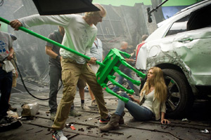 Transformers: Age of Extinction set photo