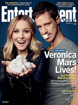 Veronica Mars movie EW Cover