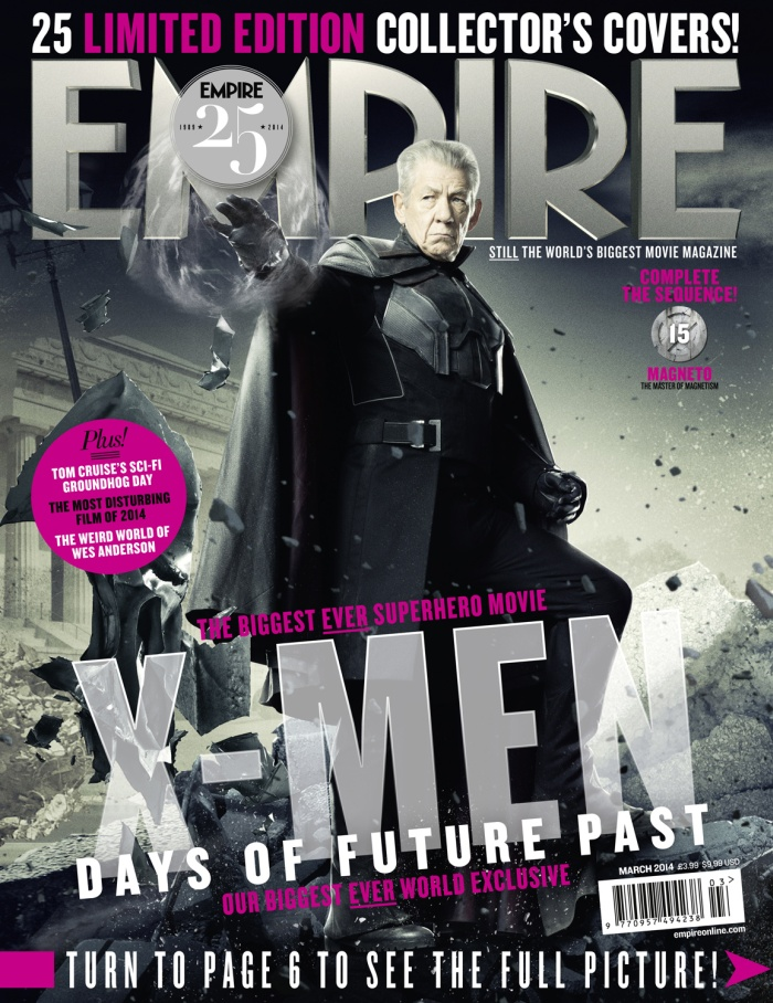 X-Men: Days Of Future Past Empire Covers Revealed | 700 x 908 jpeg 265kB