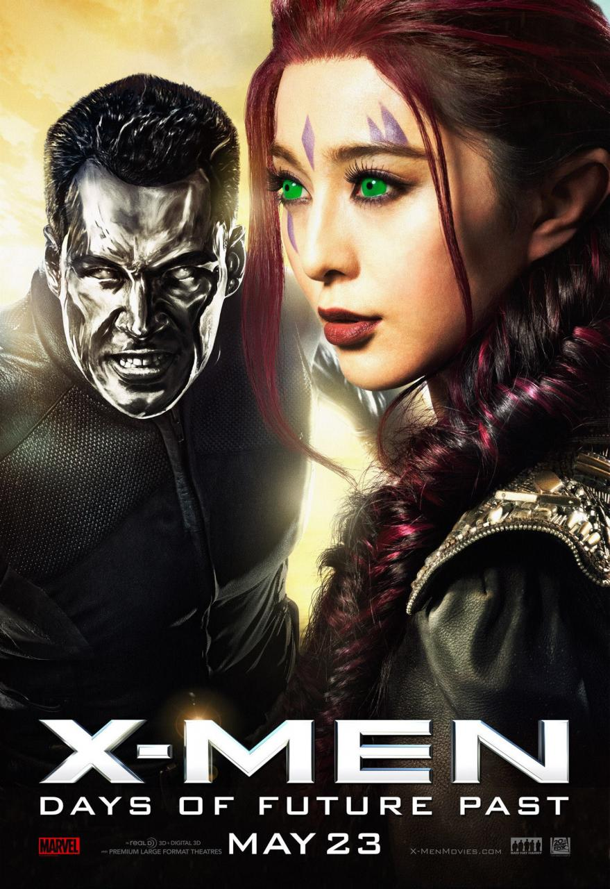 X-Men: Days of Future Past character poster
