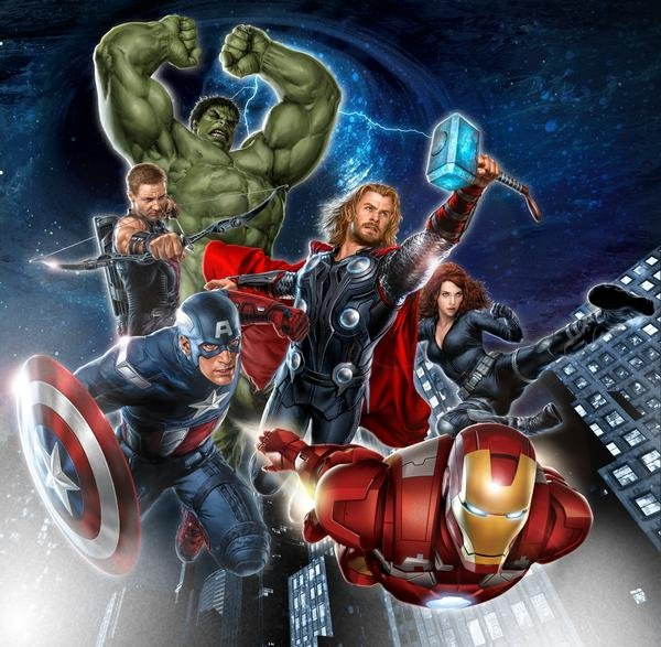 The Avengers movie banner